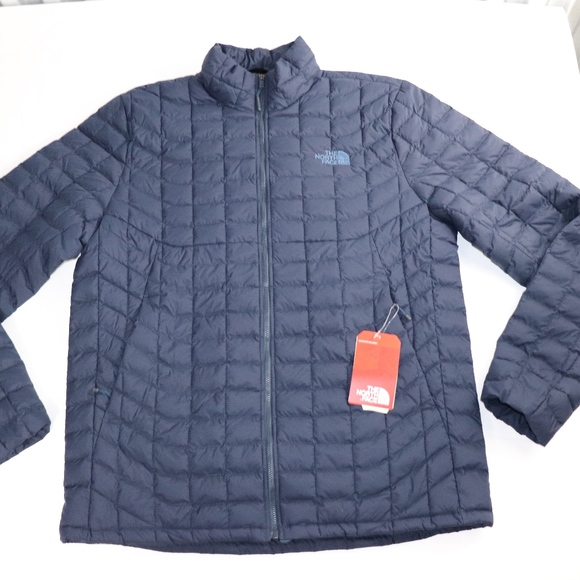 af0156096 The North Face Jackets & Coats | Large Tall Mens Navy Thermoball ...